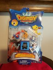 DIGIMON DATA SQUAD SET 2 PVC FIGURES NEW DAMAGED PACKAGE