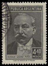 "ARGENTINA 663 (Mi656) - Roque Senz Pena ""President"" (pf21286)"