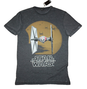 Star Wars, The Force Awakens - Tie Fighter Men's size XS, L, 2XL faded aged look