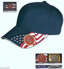 Firefighter Flag Baseball Cap