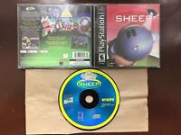 Sheep Sony PlayStation 1/PS1-CIB & Tested *Mint-Near Mint Disc*