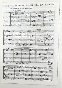 Hubert Bath: Sunshine and Shade (Music Score)