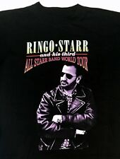 VTG RINGO STARR Beatles ALL-STARR World TOUR T - SHIRT - LG