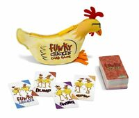 Funky Chicken Card Game North Star Games NSG 630 Happy Salmon Sequel Travel