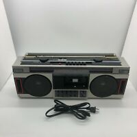 Vintage Sony Super Woofer Boombox Model CFS-350 - No FM/Tapes Play - REPAIR