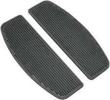 DS Rubber Driver Floorboard Inserts w/Dampers Harley FLHTCU Ultra Classic 07-13
