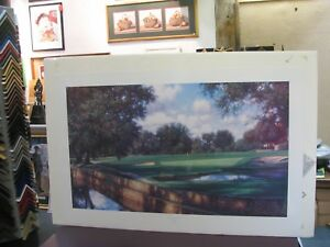 Sixteenth at Colonial by Larry Dyke Golf