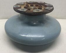 New ListingVintage High Voltage Jeffrey Dewitt Insulator 1920's Blue 11' Wide