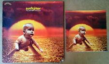 PAUL KANTNER / GRACE SLICK - SUNFIGHTER - GRUNT LP + LYRIC BOOKLET - 1971