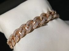 Bracciale grumetta Tennis Oro e Diamanti 750 -  Gold Diamond Bracelet Tennis