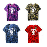 Bape Camo t Shirt A Bathing Ape Tee Shirt US Size