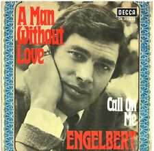 """Vinyl-7""""-Cover # only Cover # Engelbert # A Man without Love # 1968 # Decca # vg"""