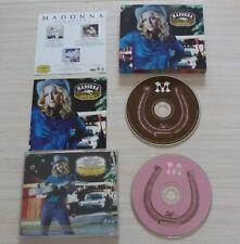 VERSION 2 CD ALBUM MADONNA MUSIC 17 TITRES 2001