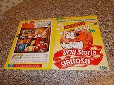 ALBUM ISIDORO & SONIA EDIZIONI BLU 1985 COMPLETO DA EDICOLA CON POSTER COMPLETO