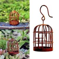 Iron Bird Cage Birdcage 1/12 Dollhouse Miniature Decoration