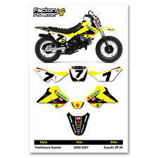 Suzuki Jr50 Jr 50 Graphics Kit stickers decal Fits 2000 2001 2002 03 04 05 06 07 (Fits: Suzuki)