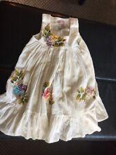 Anna R Dress Boutique Cream Hand Painted Cotton 6 $135