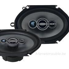 "Hifonics ZEUS ZSI-683 6x8"" 3-Wege Triax Lautsprecher Set oval für Ford 180 Watt"
