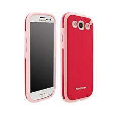 Puregear Samsung Galaxy S3 Slim Shell Flexible Silicone Strawberry Pink