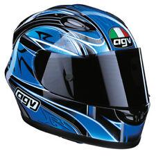 AGV X-R2 XR2 Multi Race Motorcycle Helmet Blue Black White Grey XLarge XL