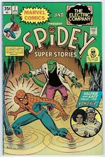 Spidey Super Stories #7 The Electric Company 1975 Vf/Nm (9.0) Lizard
