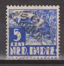 Nederlands Indie 251 TOP CANCEL SOLO 1938 Karbouw Netherlands Indies watermark