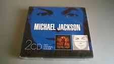 CD MICHAEL JACKSON : BLOOD ON THE DANCE FLOOR / INVINCIBLE (COFFRET 2 CD)