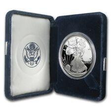 2002-W Silver Eagle Dollar Proof - $1 U.S. Mint 1 oz .999  with Box & COA