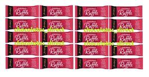 20 Jamesons Rasberry Ruffle 26g Raspberry & Coconut Dark Chocolate Bars Gift