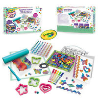 Crayola Kids Childrens Glitter Dots Sparkle Station Super Set Creative Artwork