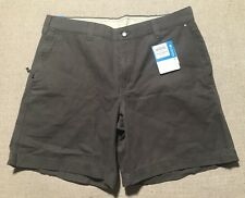Men's Columbia Outdoor Hiking Chino Shorts Size 36 Inseam 8 UPF 50 NEW $45 #K3