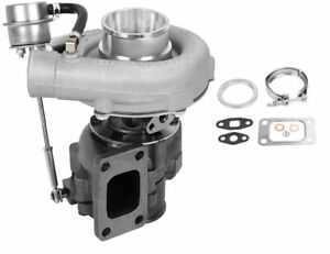 T3 T4 Turbo .63 A/R Oil Hybrid V Band Universal Turbocharger for 4 6 Cyl tcd