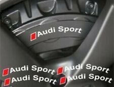 4 Pegatinas sticker brake Audi sport S s1 s2 s3 s4 Sline Rs pinzas freno 10 cm
