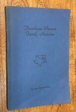 Arkansas, (Miller Co.) Texas (Bowie Co.), Texarkana, Pioneer Families, Genealogy
