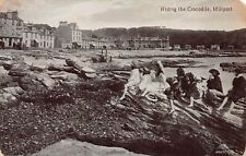 More details for riding the crocodile millport isle of cumbrae postcard