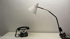 VEB Zweckleuchtenbau DDR '60er Präcitronic Werkstattlampe Wand- Tisch- Lampe