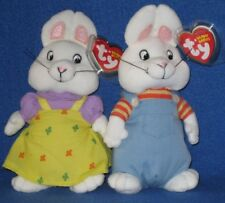 TY MAX and RUBY BEANIE BABY SET - MINT with MINT TAGS feb0b7a22aa4