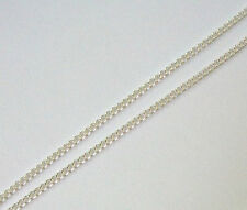 Silver plated chain 32 feet open links curb chain 2.5x2mm for jewelry making 061