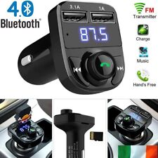 FM Transmitter Bluetooth Wireless Car Kit MP3 Radio Player Car Charger 3.1A USB