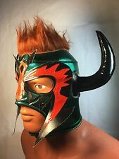 PSICOSIS WRESTLING LUCHADOR MASK! COOL DESIGN!!GREAT ITEM!! GREAT HANDMADE MASK!