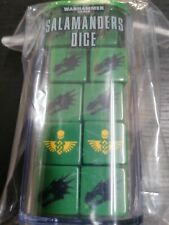 Warhammer 40k Salamanders Dice New And Sealed