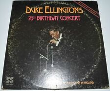 Duke Ellington 33RPM Speed Big Band & Swing LP Records