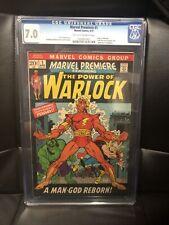 MARVEL PREMIERE #1 CGC 7.0 1st App ADAM WARLOCK - 1972 - GOTG - Marvel - Disney+