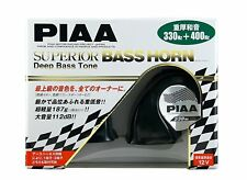 NEW PIAA SUPERIOR BASS HORN 112dB(330Hz / 400Hz) Black 2 pieces HO-9 from Japan