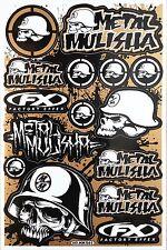 Metal Mulisha Rockstar Energy Sticker Bike MTB Motocross Vinyl DecaI Graphic T19