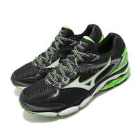 Mizuno Wave Ultima 8 Black Green White Men Running Shoes Sneakers J1GC1609-02