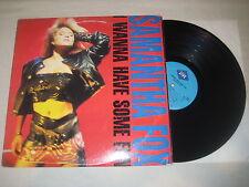 Samantha Fox  - I wanna have some fun   Vinyl LP