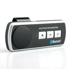 Bluetooth Car Kit Wireless Vivavoce Altoparlante Telefono VISIERA IPHONE 6 SAMSUNG 5 UK
