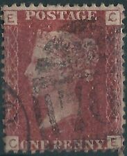 f278) Great Britain. 1858/79. Used. SG 43 1d Rose-red. Penny Reds. Pl. 162. c£8+