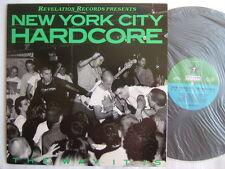 NEW YORK CITY HARDCORE WARZONE SICK OF IT ALL REV KBD 1988 REVELATION 7